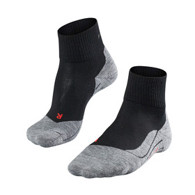 Falke TK5 Short Socks Women grey/black